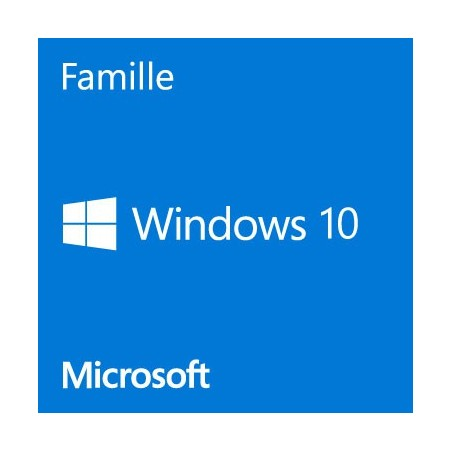 Windows 10 famille 64 bits fr