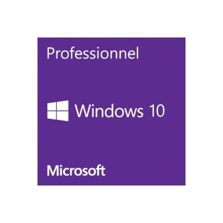 Windows 10 Pro 64 bits fr