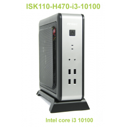 ISK110-H470 i3 10100 : ultra performant, compact et responsable