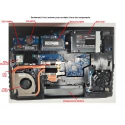 Portable 15'' NK50SZ core i9 10900T - réparable et évolutif
