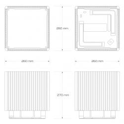 DB4-H410 - dimensions