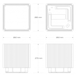 DB4-B560 - dimensions