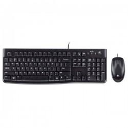 Ensemble clavier/souris filaire Logitech MK120